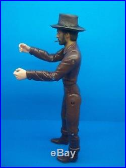 Marx (CUSTOM DARK BROWN FIGURE) Johnny West Best Of The West Horse Goode Maddox
