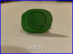 Marx Howdy Doody 1950's Dilly Dally Figure 60mm Flat Green Mint Extremely Rare