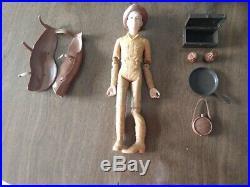 Marx Johnny West 9 Figures and Thunderbolt Horse