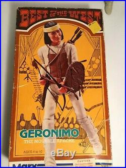 Marx Johnny West Best Of The West Action Figure Accessories Geronimo