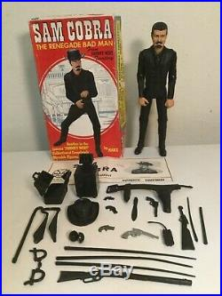 Marx Johnny West Best Of The West Action Figure Accessories Sam Cobra