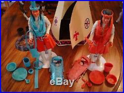 Marx Johnny West CX Ranch Fort Apache FULL COLLECTION! Surrey, all figures