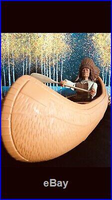 Marx Johnny West Marx UK Exclusive Canoe with Custom Figure