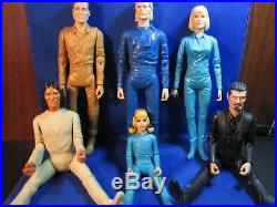 Marx Johnny West Series Lot of Six (6) Action Figures