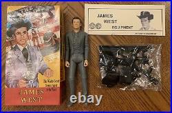Marx Johnny West Wild Wild West TV James West Figure Box Accessories