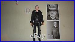 Marx Johnny West custom John Wayne THE SHOOTIST figure, and horse, 1/6 12