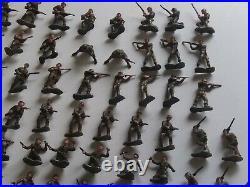 Marx Miniature Guerrilla Warfare 1960's Vietnam Playset Figures. 134 Pieces