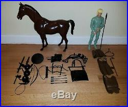 Marx Playset 12 Erik the Viking Figure with Horse MINT BOXED SET Johnny West