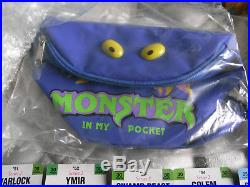 Matchbox MIMP Monster In My Pocket Series 2 figures with RARE figures & Extras
