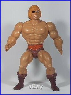 Mattel He Man action figure toy 1981 Vintage collectible India Made used conditi