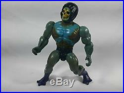 Mattel Skeletor action figure toy He Man hard Head Made in India rare vintage