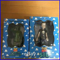 Medicom Disney Toy Story Vintage Rare Figure Set Doll Andy Sid Scud Rocky Janie