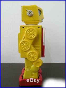 Metal House New Meter Robot Tinplate Yellow Robot series Figure Made in Japan