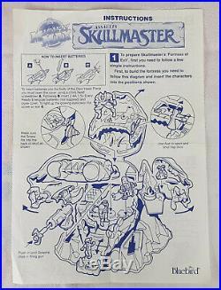 Mighty Max Bundle, Skull Master, Terror Talons + Figures, Bluebird Toys, Job Lot
