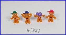 Mighty Max - Prototype Orange Max Figures X8 - 1st Edition - Bluebird Toys