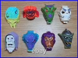 Mighty max shrunken heads series 2 micro figure playsets x 8 bluebird toys