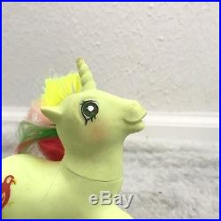 Mimic Twinkle Eye Hasbro My Little Pony Vintage 1987 G1 Yellow Parrot Toy Figure