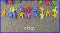 Monster in my Pocket Series 1 COMPLETE plus extras 76 figures inc 24 NEONS