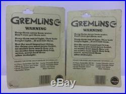Movie Gremlins Stripe & Gizmo 1984 LJN WIND-UP Toy Figure 2 Pieces Set Vintage