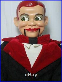 Moving eyes JERRY MAHONEY Ventriloquist dummy puppet figure doll Paul Winchell