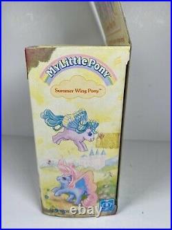 My Little Pony Summer Wing Little Flitter Doll Figure Toy Vintage New NIB