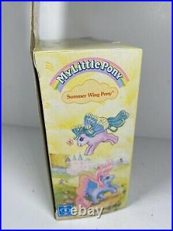 My Little Pony Summer Wing Little Flitter Doll Figure Toy Vintage New NIB
