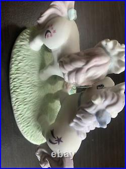 My Little Pony Wedding Prance G1 Porcelain Figure Rare Glory Moondancer VTG 1985