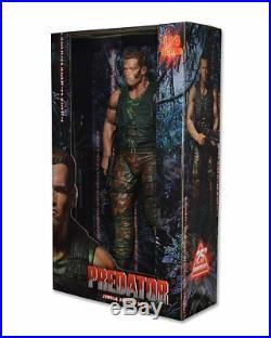 NECA Predator Dutch 18 Inch Huge Action Figure Arnold Schwarzenegger Toy NEW