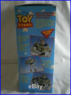 NEW Original Vintage Disney Toy Story 1995 1st Edition Buzz Lightyear Figure