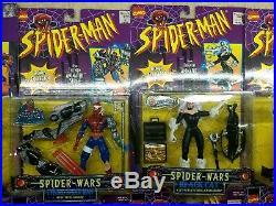 NIB Spider-Man Toys Toy Biz Figures Lot of 16 Collectible Mid 90s Marvel Vintage
