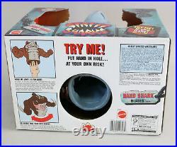 NOS VTG 1994 Mattel Street Sharks Blades Hand Puppet Figure Toy NIB New in Box