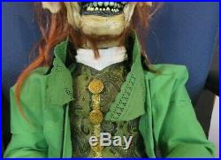 New Evil Leprechaun Ventriloquist Figure Moving Eyes Mouth & Head Custom Build