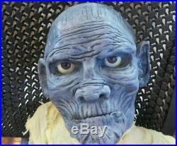 New Mummy Boris Karlof Ventriloquist Figure Dummy Custom 1 Of A Kind Halloween