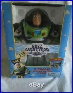 New Original Vintage Disney Toy Story 1995 1st Edition Buzz Lightyear Figure