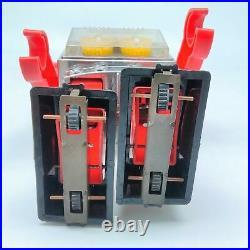 New Silver Tin Horikawa toy Gear Robot figure Operation check OK