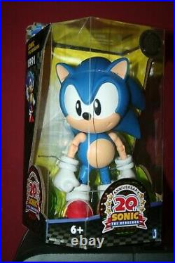 New Sonic The Hedgehog Jazwares Classic Toys R Us Deluxe 10 Figure 20th Anniv