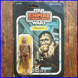 OLD kenner star wars figure Chewbacca ESB 1980 vintage figure toy RARE