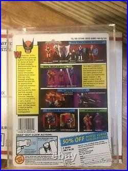 ORIGINAL Vintage 1991 Toy Biz Marvel X Men Wolverine Action Figure AFA 80