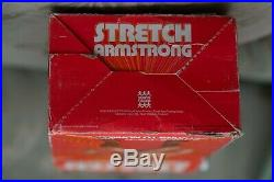 Original Stretch Armstrong, vintage figure with box, Denys Fisher