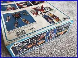 Panosh Place Voltron Lion Force Vintage With Box 1984 Toy Action Figure