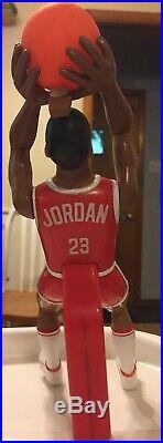 Plastic Toy Figure Michael Jordan HORSE Basketball Game Ohio Art Lil Sport 80s