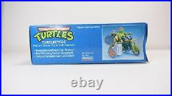 Playmates TURTLECYCLE TMNT Teenage Mutant Ninja Turtles Cycle Toy Figure Vintage