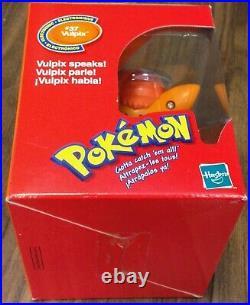 Pokemon Electronic #37 Vulpix Toy Figure Mega Rare Nintendo Catch Em All Vintage