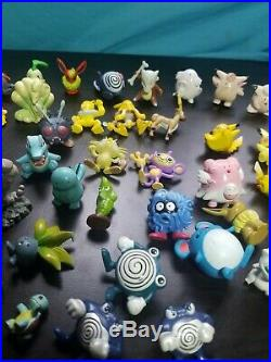 Pokemon VTG TOMY Pvc Figure TOY Lot 90s Original Nintendo 1999