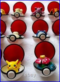 Pokemon Vintage Authentic Tomy CGTSJ BFI Keychain Pokeball Figure Toy Lot of 71