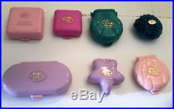 Polly pocket vintage collection lot of 16 playsets 36 figures dolls toys rare
