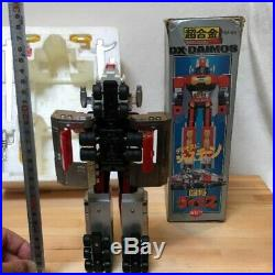 Popy Chogokin DX Daimos Action figure set with box Vintage toy 1980 toy Robot