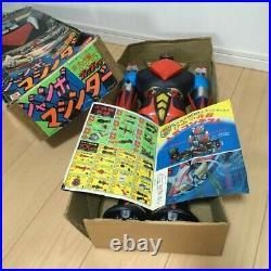 Popy Grendizer UFO Robo Jumbo Machinder Vintage Rare Figure toy manga anime Box