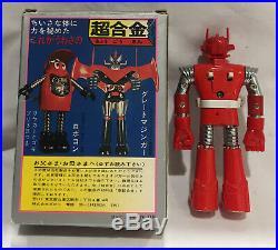 Popy Mach Baron Chogokin die-cast toy vintage Japanese Super robot figure