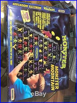 Pre-owned Monster in My Pocket MIMP Rare figures & Monster Mountain with box